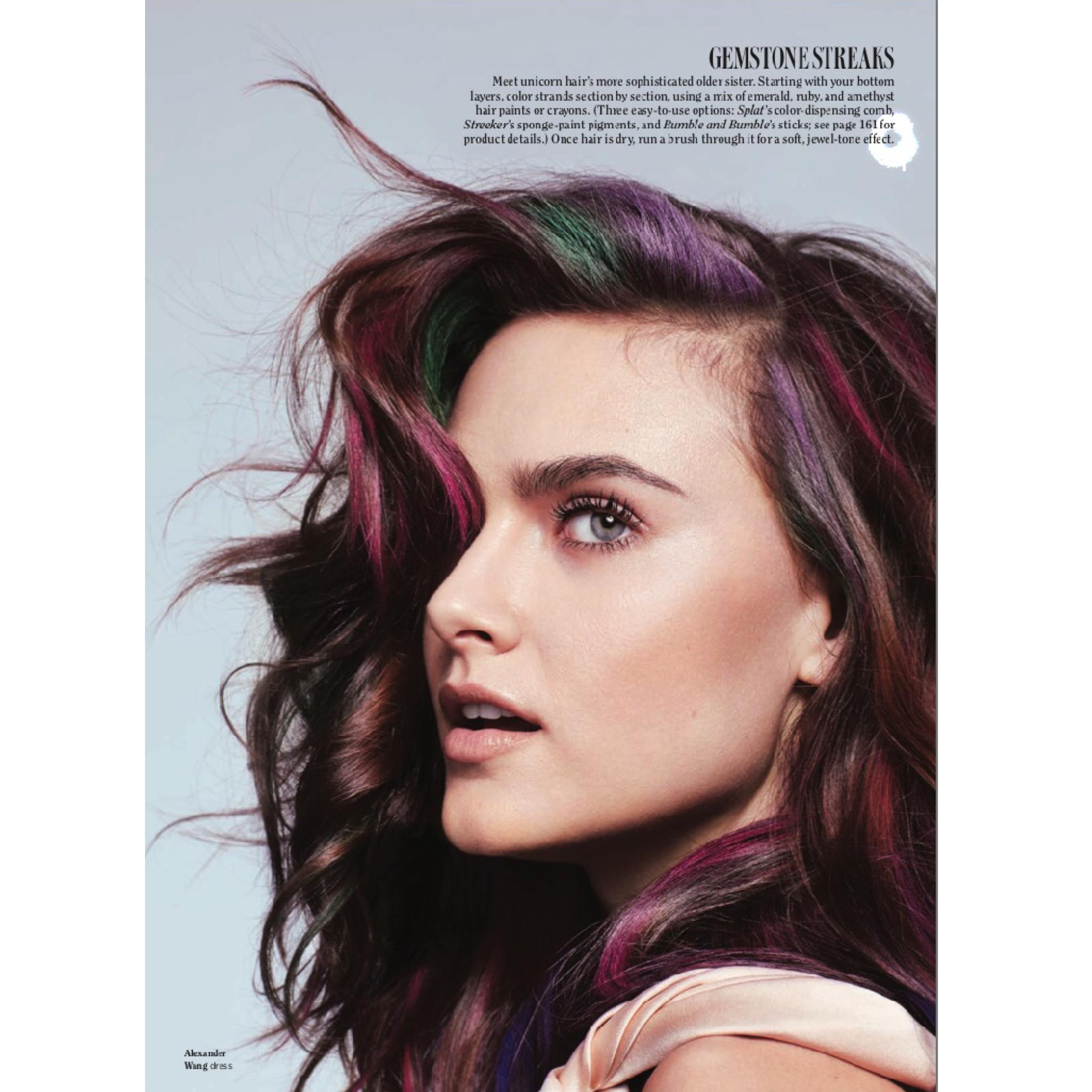 Luxury Streekers Hair Color